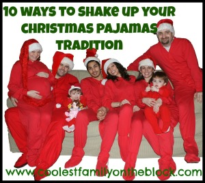 10 Ideas for your Christmas jammies tradition