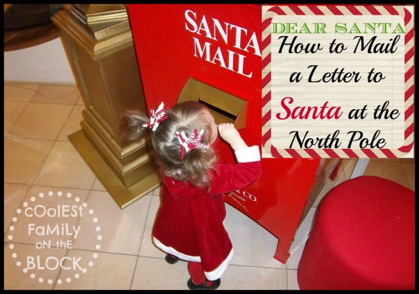 How to mail a letter to Santa in the North Pole