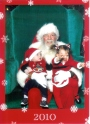 Wordless Wednesday: The Santa Photo 2010 – TheSequel