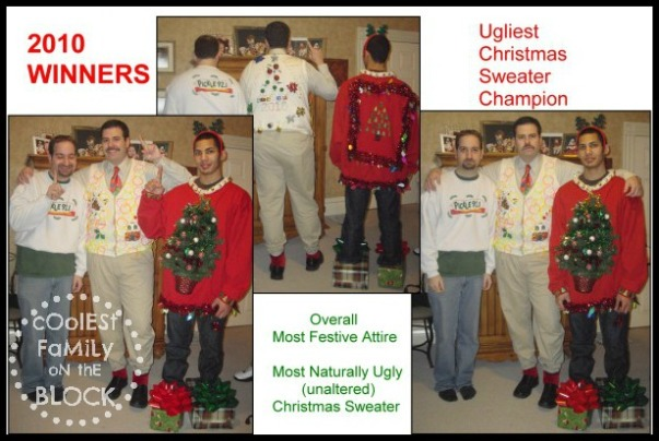 Ugly Christmas Sweater Winners 2010