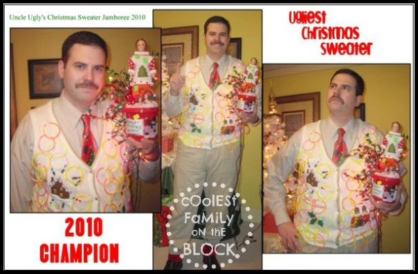 Ugly Christmas Sweater Contest Winner 2010