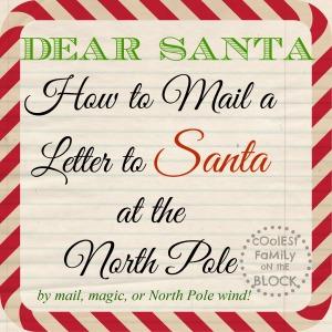 Dear Santa Free Printable Santa Paper Coolest Family On | Caroldoey