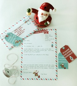 my letter to santa (paper couture)