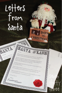 Free Letter from Santa (seven thirty three)