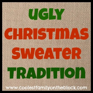 Ugly Christmas Sweater Tradition (Coolest Family on the Block