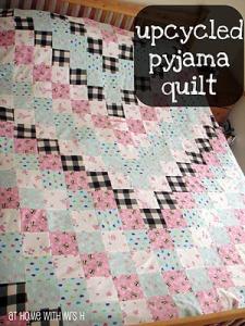 upcycledpyjamaquilt