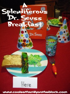 Splendiferous Dr Seuss Breakfast