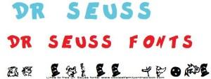 Seuss fonts 02 Dr Seuss txt