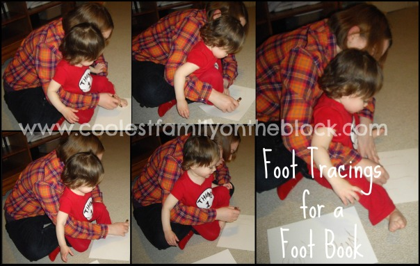 Foot Tracings for Foot Book