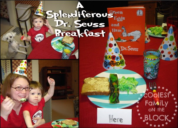 A Splendiferous Dr. Seuss Breakfast