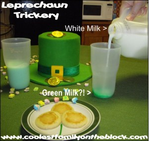 Leprechaun Trickery Magic Green Milk