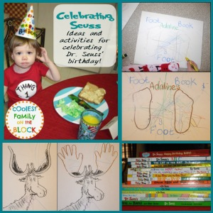 Ideas for Celebrating Dr. Seuss' Birthday