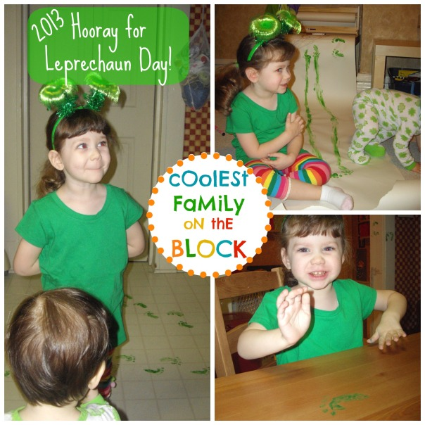 Hooray for Leprechaun Day