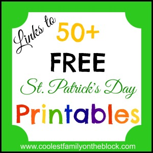 Free St Patricks Day Printables