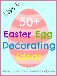 Round up of 50+ Easter Egg Decorating Ideas