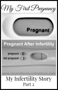 Pregnant after infertility