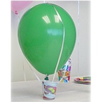 Activity With Ballons For Kid Science