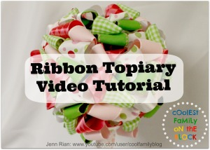 Ribbon Topiary Video Tutorial