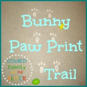 Bunny Paw Print Trail