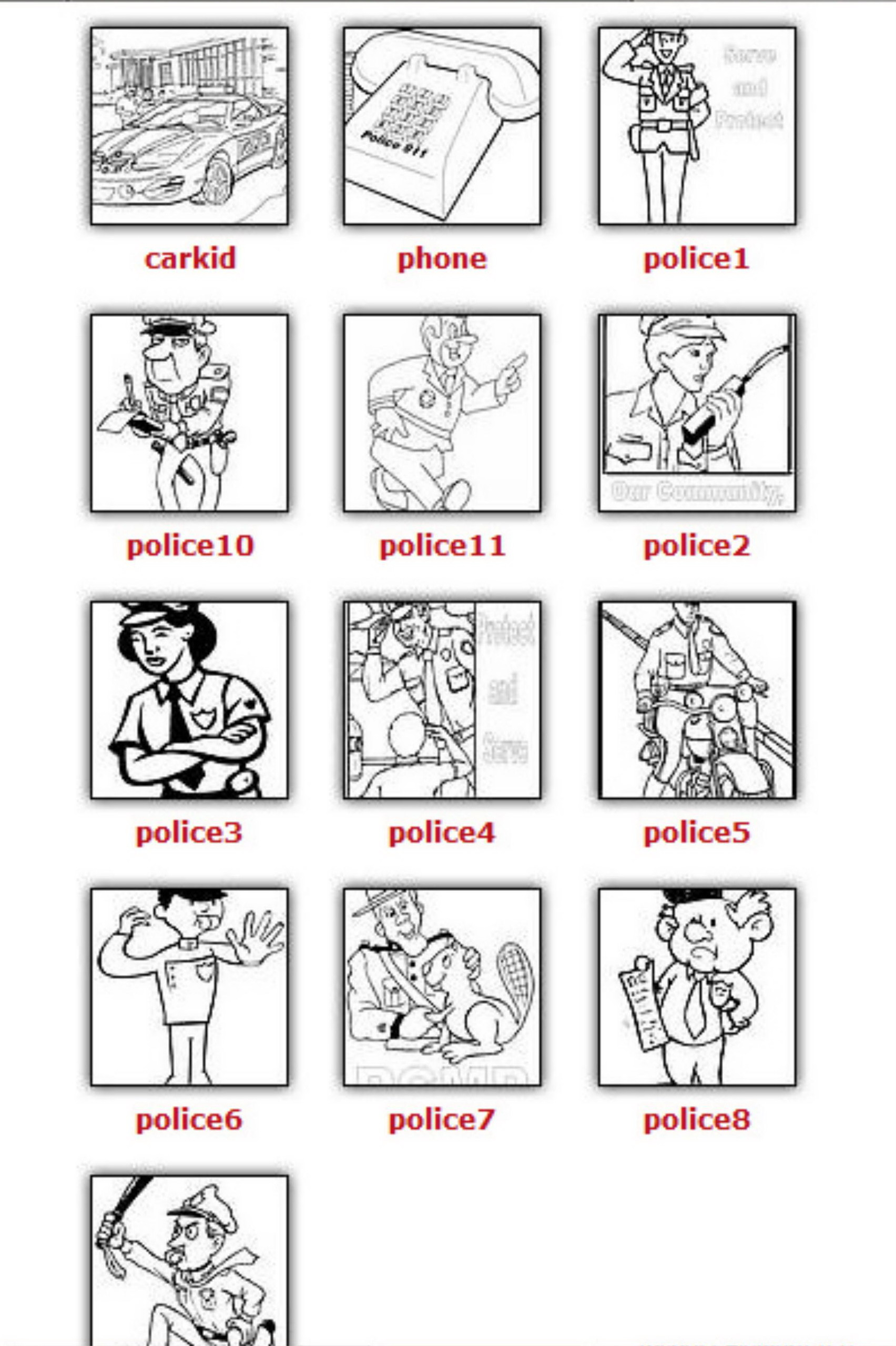 Printables Free Community Helpers Worksheets safarmediapps – Community Helpers Worksheets for Kindergarten