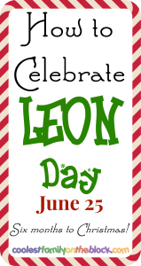 How to Celebrate LEON Day
