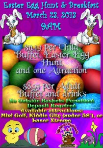 Flashlight Easter Egg Hunt