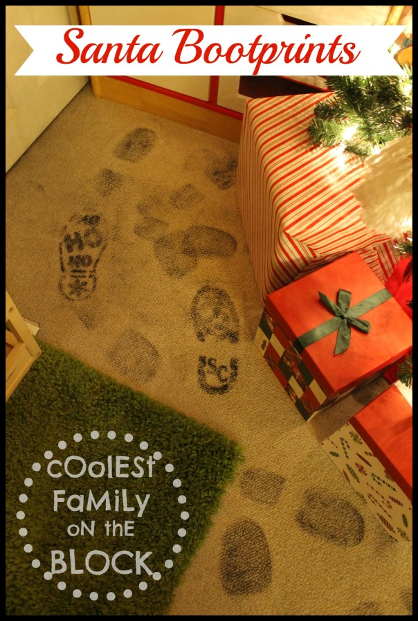 Santa Proof: Magical Santa Bootprints | Coolest Family on ...
