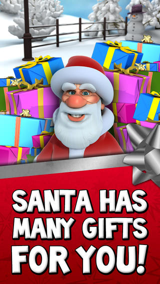 Talking Santa iPhone App