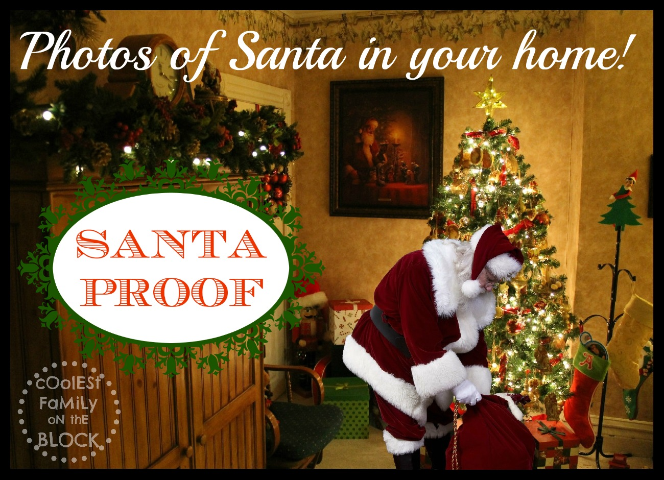 Picture of santa in your home