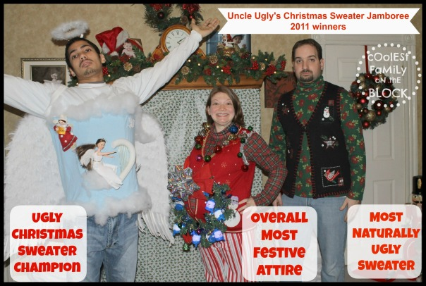 Ugly Christmas Sweater Champions