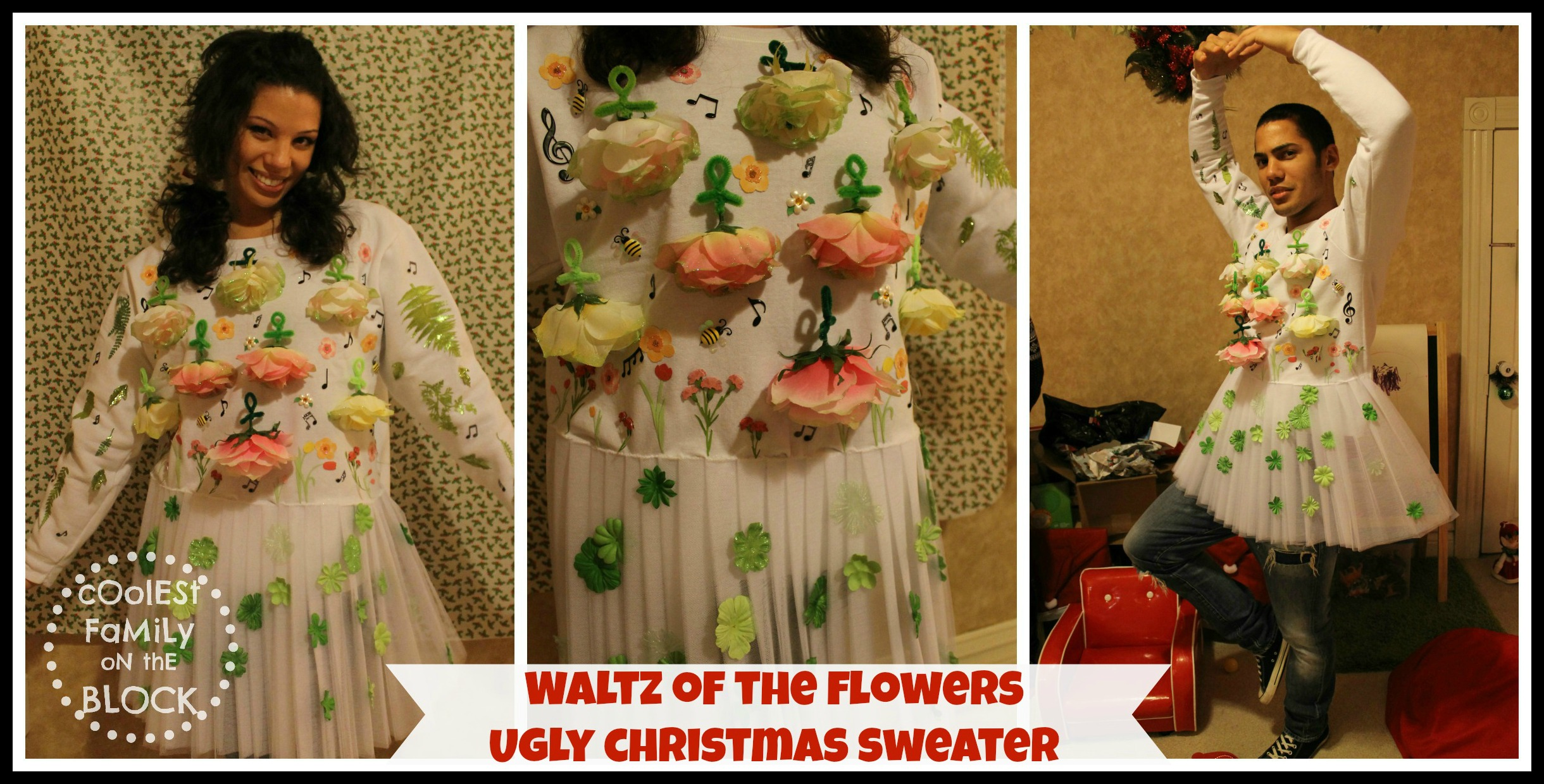 ugly Christmas sweaters | Coolest Family on the Block