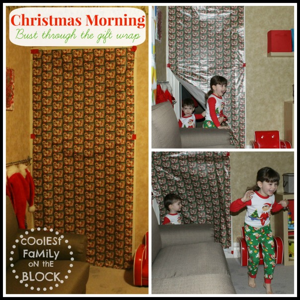 Gift Wrapped Doorway