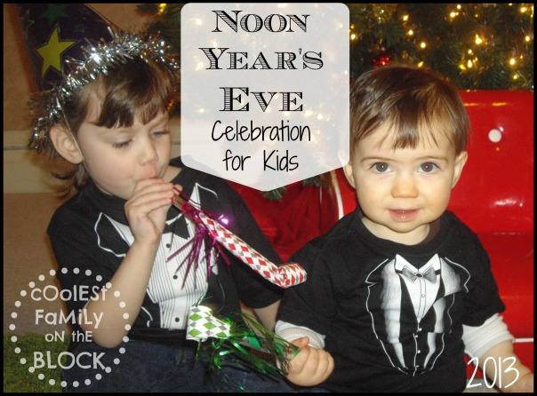 Noon Years Eve for Kids