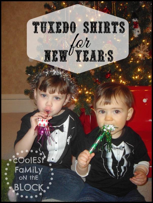 New Years Tuxedo Shirts