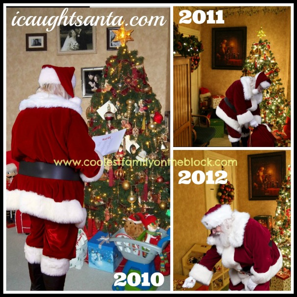 Photos of Santa in your home!