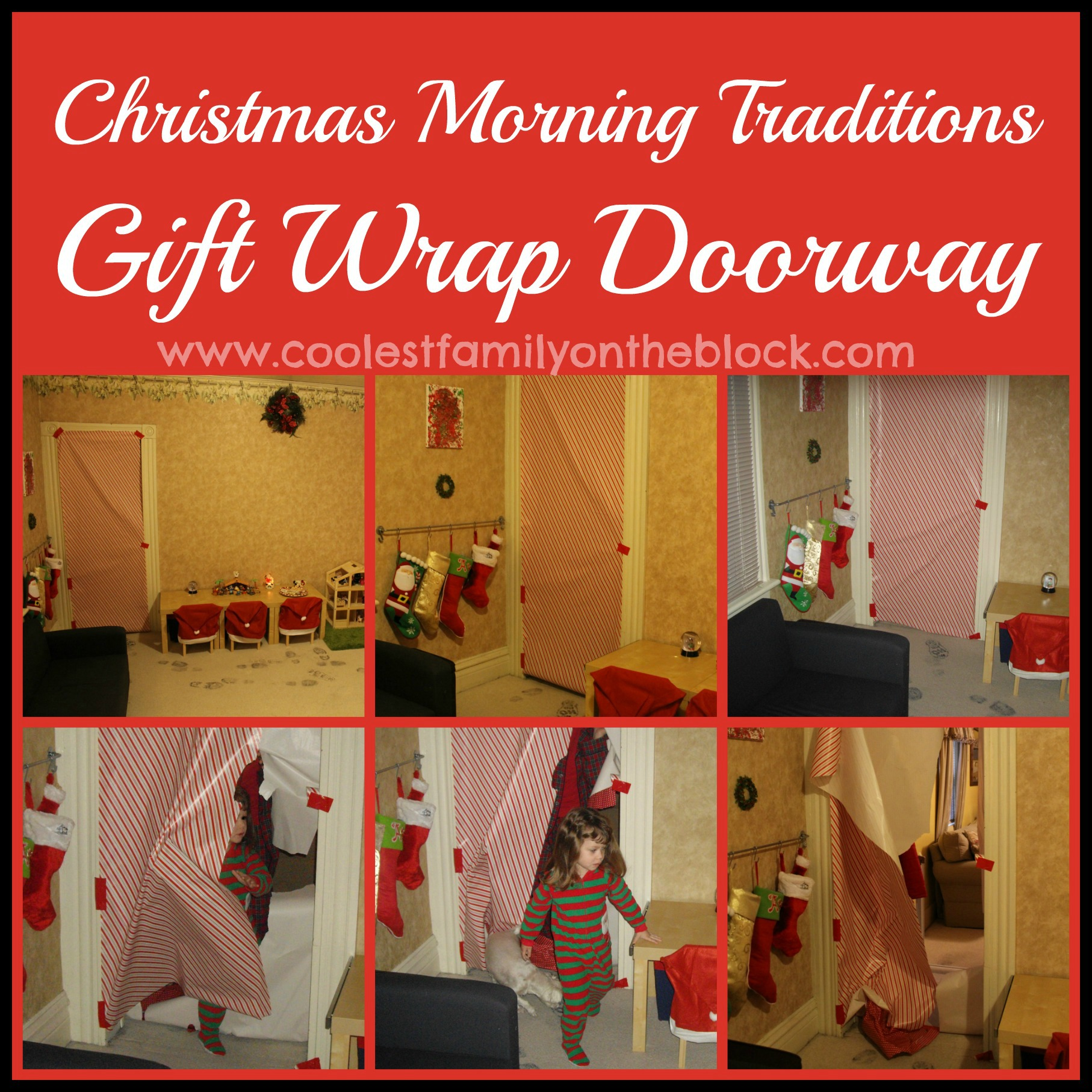 Muppet christmas gift wrap
