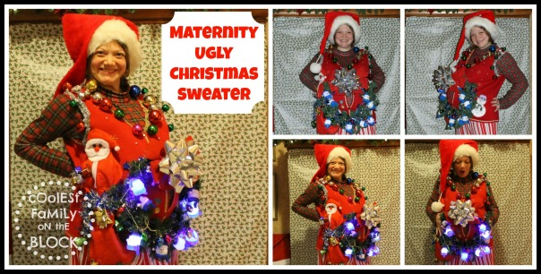 Maternity Ugly Christmas Sweater