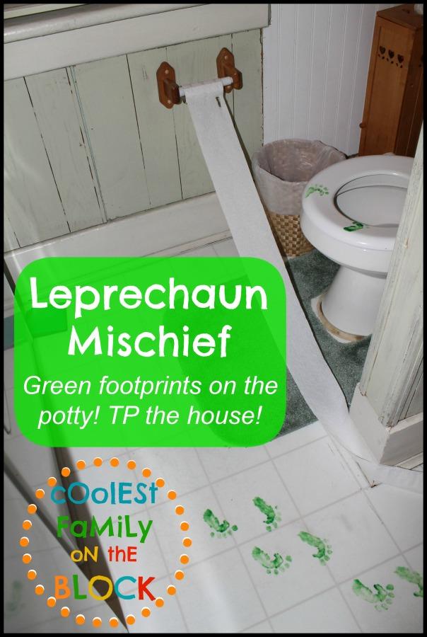 Leprechaun footprints