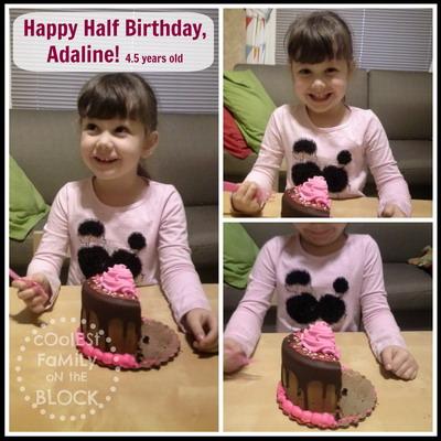 Celebrating a Half Birthday