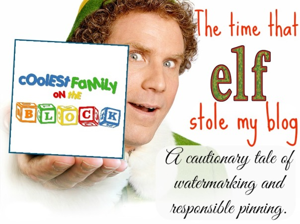 Elf stole my blog