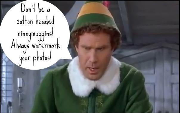 Elf stole my blog
