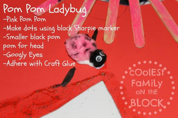 Pom Pom Ladybug