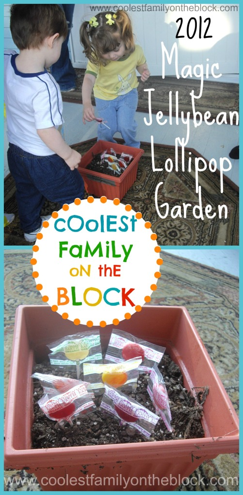Magic Jellybean Prayer and Lollipop Garden