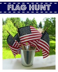 Flag Hunt Activity for Kids