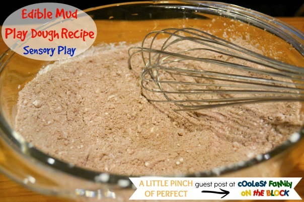 DIY Edible Mud Play Dough Recipecfotbwm
