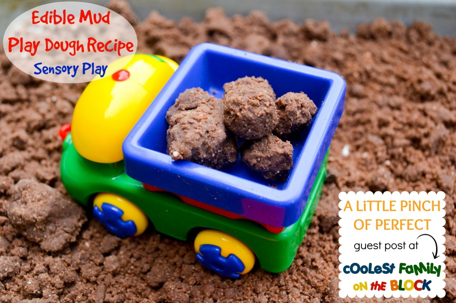 DIY Edible Mud Play Dough Recipe