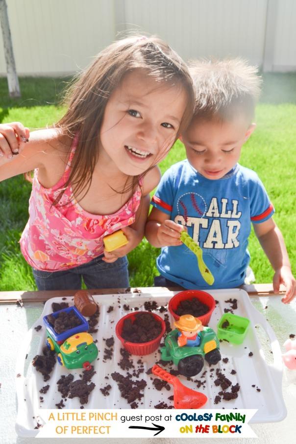 DIY Edible Mud Play Dough Recipe