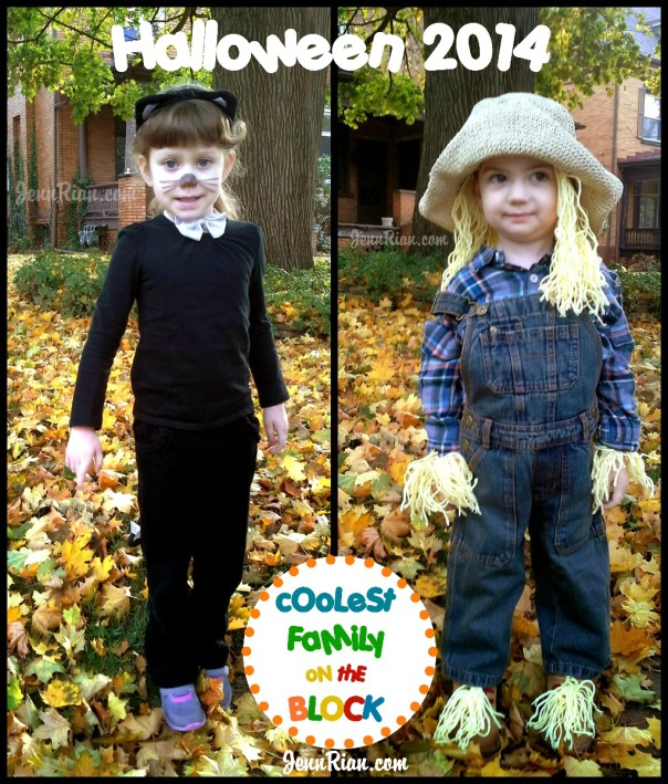 Easy Halloween Costumes: Black Cat, Scarecrow