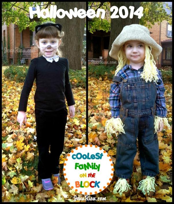Easy Halloween Costumes: Black Cat, Scarecrow