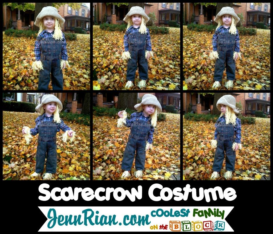 Easy Scarecrow Halloween Costume